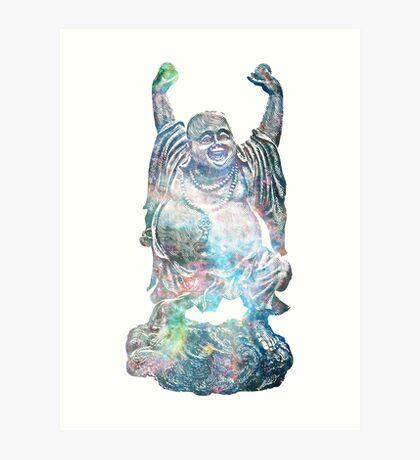 Tarantula Nebula | Happy Buddha Remixx Art Print