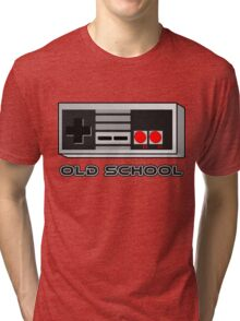 NES - Nintendo Entertainment System  Tri-blend T-Shirt