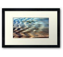 Sea Abstract Framed Print