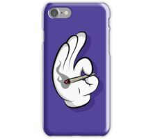 Puff Puff Pass Hand iPhone Case/Skin