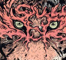 Masked Tiger Sticker