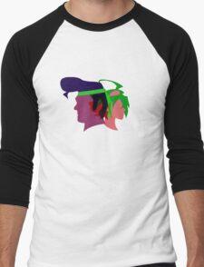 Arc V Ship Silhouette- Yuya/Gongenzaka Men's Baseball ¾ T-Shirt