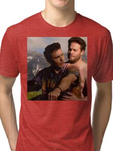 James Franco & Seth Rogen Tri-blend T-Shirt