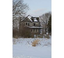 3 Story Abandoned house Photographic Print