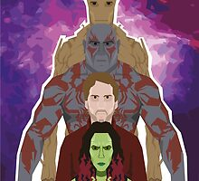 Guardians of the Galaxy by EvanTapper