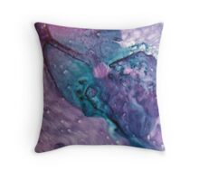 Bruised Heart Throw Pillow