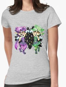 Callie and Marie No Text Womens Fitted T-Shirt