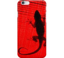 because of a Lizard. iPhone Case/Skin