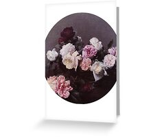 new order roses Greeting Card