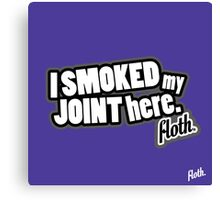 Floth Smoke Canvas Print