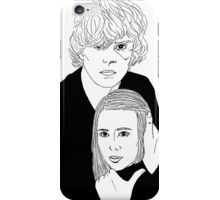 Ahs Coven Kyle Spencer and Zoe Benson iPhone Case/Skin