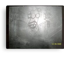 sculpture etchings Metal Print
