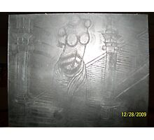 sculpture etchings Photographic Print