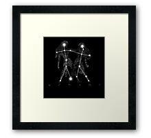 Gemini Constellation Sign  Framed Print