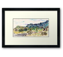 Out Past Penrose Framed Print
