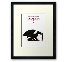 How to train your Dragon 2 Framed Print