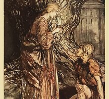 The Rhinegold & The Valkyrie by Richard Wagner art Arthur Rackham 1910 0171 This Healing and Honeyed Draught of Mead by wetdryvac