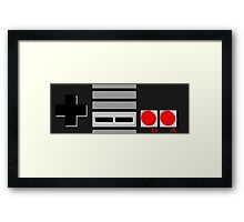 NES - Nintendo Entertainment System 2nd Design Framed Print