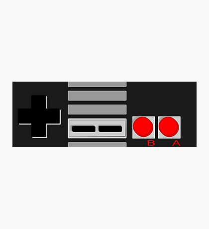 NES - Nintendo Entertainment System 2nd Design Photographic Print