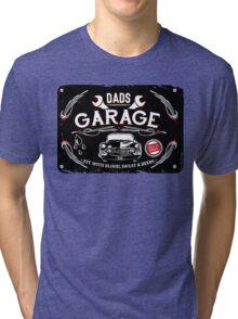 DADS GARAGE Tri-blend T-Shirt