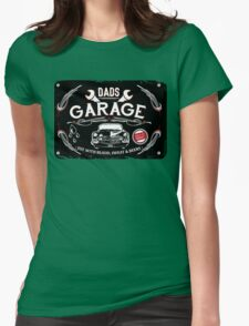 DADS GARAGE Womens Fitted T-Shirt