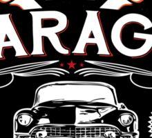 DADS GARAGE Sticker