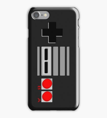 NES - Nintendo Entertainment System 2nd Design iPhone Case/Skin