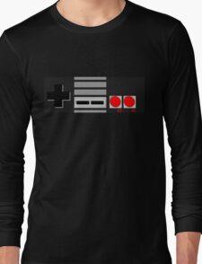 NES - Nintendo Entertainment System 2nd Design Long Sleeve T-Shirt