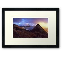 Little Oberon Sunset 2 Framed Print