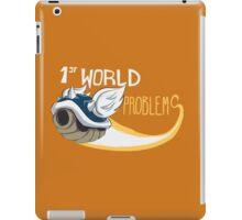 1st World Problems Orange iPad Case/Skin