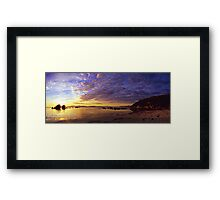 Yanakie Beach Sunrise Framed Print