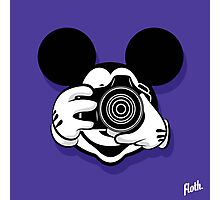 Mouse Camera Head Photographic Print