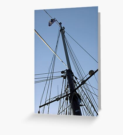 "Sailing: Clipper ""Sir Robert"" 12 - www.sir-robert.com Greeting Card"