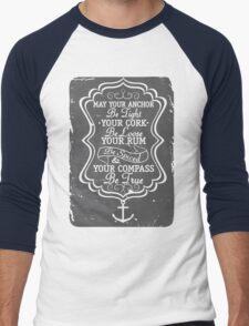 RUM Men's Baseball ¾ T-Shirt
