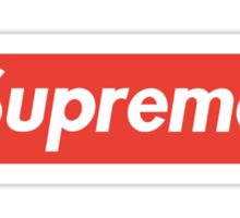 SUPREME Sticker