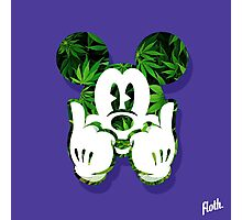 Mouse Kush Dope Head Photographic Print