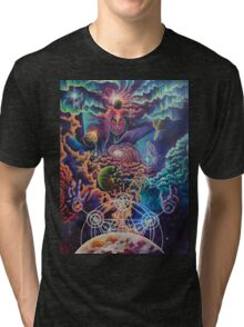 Shiva the cosmic destroyer Tri-blend T-Shirt