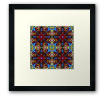 Stained Glass Buffet Framed Print
