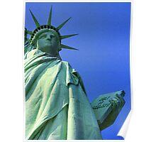 Liberty - New York Harbor Poster