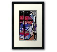 Mirrored Self  Framed Print