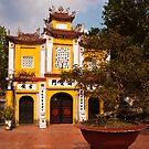 Vietnam Temple by Nickolay Stanev
