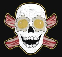 Bacon & Eggs Skull Kids Clothes