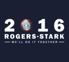 Rogers/Stark Presidential Running Team by shidesigns