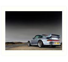 Possibly the ultimate Porsche 911 .... Art Print