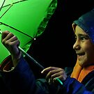 Playing With Umbrella by RajeevKashyap
