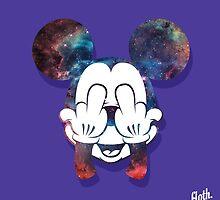 Mouse Nebula Head by FlothWest