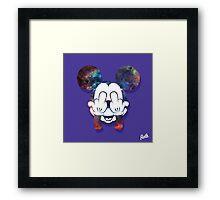 Mouse Nebula Head Framed Print