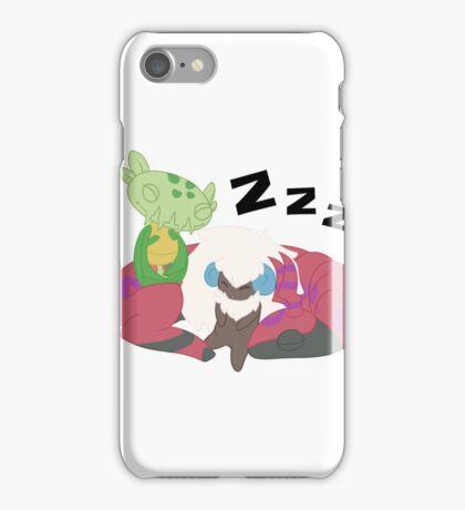 Resting Pokemon iPhone Case/Skin