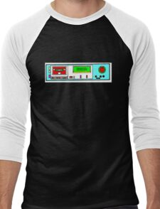 retro tape deck Men's Baseball ¾ T-Shirt
