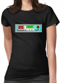 retro tape deck Womens Fitted T-Shirt